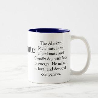 Alaskan Malamute Mug Trivia