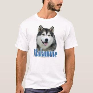 Alaskan Malamute Name T-Shirt