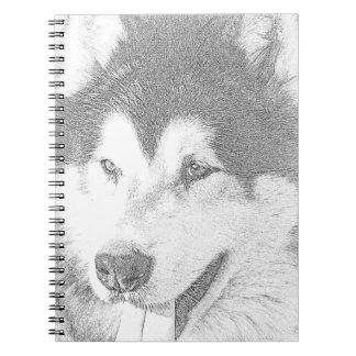Alaskan Malamute Notebook