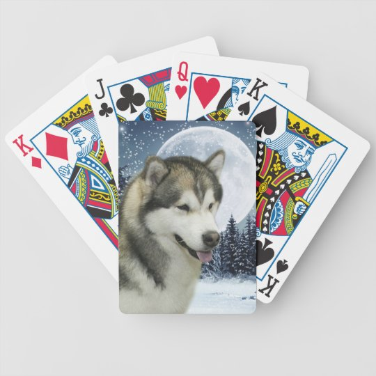 Alaskan Malamute Playing Cards