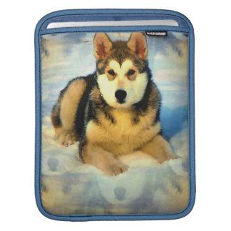 Alaskan Malamute Puppies iPad Sleeve