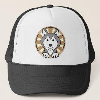 Alaskan Malamute Trucker Hat