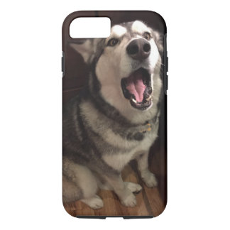 Alaskan Malamute With Open Mouth Photograph iPhone 8/7 Case