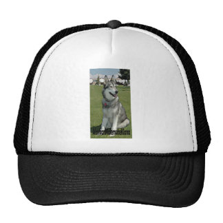Alaskan Malemute Kiana Trucker Hat