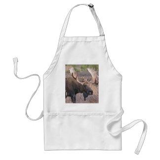 Alaskan Moose Adult Apron