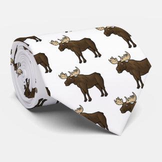 Alaskan Moose Neck Tie