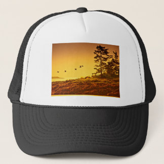 Alaskan Morning Trucker Hat