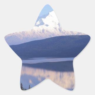 Alaskan Mountain.jpg Star Sticker