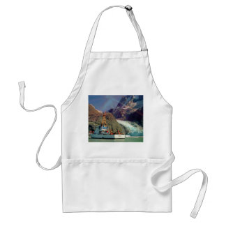 Alaskan Mountain View with Boat Apron