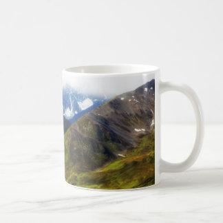 Alaskan Mountains Scene Coffee Mug
