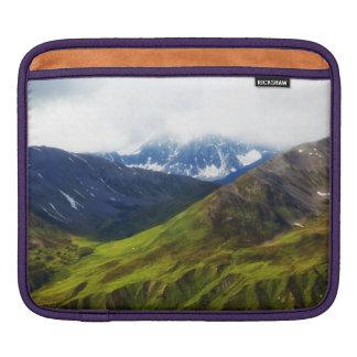 Alaskan Mountains Scene iPad Sleeve