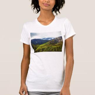 Alaskan Mountains Scene T-Shirt