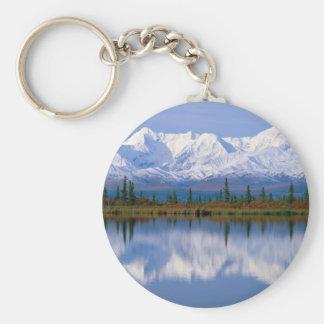 Alaskan Mountians Key Chain
