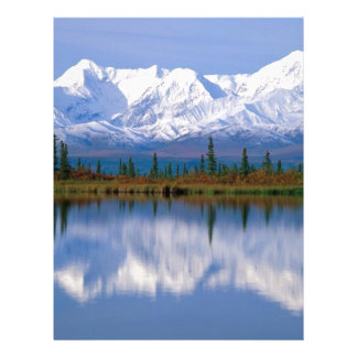 Alaskan Mountians Customized Letterhead