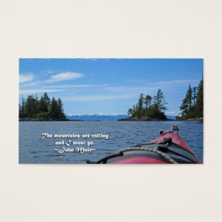 Alaskan Mtn Range / Mtns are calling…Muir Business Card