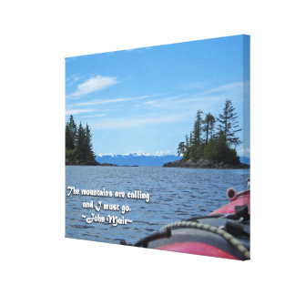 Alaskan Mtn Range / Mtns are calling…Muir Canvas Print