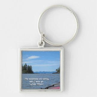 Alaskan Mtn Range / Mtns are calling…Muir Keychain