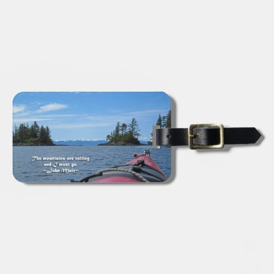 Alaskan Mtn Range / Mtns are calling…Muir Luggage Tag