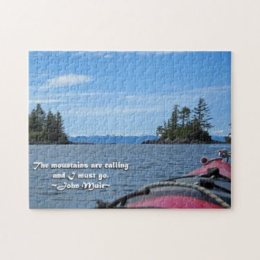Alaskan Mtn Range / Mtns are calling…Muir Jigsaw Puzzles