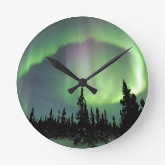 Alaskan Nights Round Clock