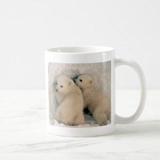 Alaskan Polar Bear Cubs Coffee Mug