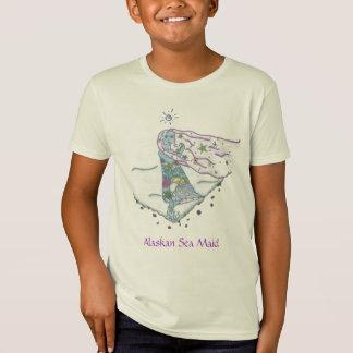 Alaskan Sea Maid with Sea Creatures T-Shirt