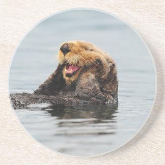 Alaskan Sea Otter Drink Coaster