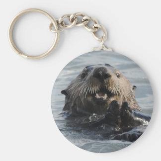 Alaskan Sea Otter Key Chain