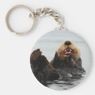 Alaskan Sea Otter Keychain
