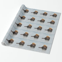 Alaskan Sea Otter Wrapping Paper