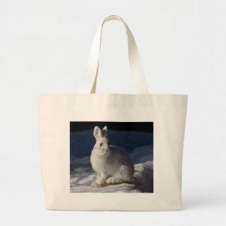 Alaskan Snowshoe Hare Tote Bag