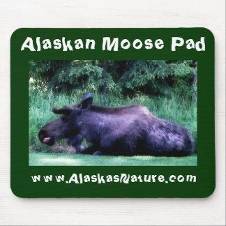 Alaskan Summer Moose Pad Mouse Pad
