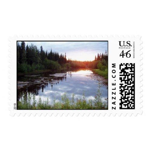 Alaskan Summer stamp