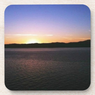 Alaskan Sunset Drink Coaster