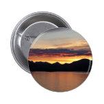 Alaskan Sunset I Beautiful Alaska Photography 2 Inch Round Button
