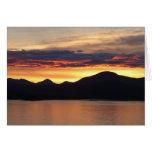 Alaskan Sunset I Beautiful Alaska Photography Card