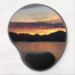 Alaskan Sunset I Beautiful Alaska Photography Gel Mouse Pad