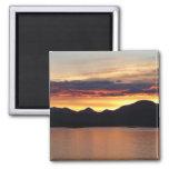 Alaskan Sunset I Beautiful Alaska Photography Magnet