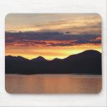 Alaskan Sunset I Beautiful Alaska Photography Mouse Pad