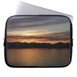 Alaskan Sunset II Beautiful Alaska Photography Laptop Sleeve