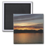 Alaskan Sunset II Beautiful Alaska Photography Magnet