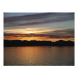 Alaskan Sunset II Beautiful Alaska Photography Photo Print