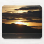 Alaskan Sunset III Beautiful Alaska Photography Mouse Pad