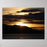 Alaskan Sunset III Print