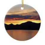 Alaskan Sunset Ornament