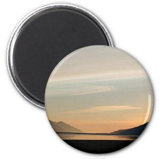 Alaskan Sunset over Turnagain Arm 2 Magnet