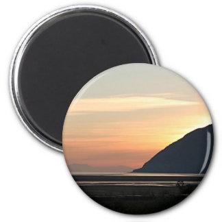 Alaskan Sunset over Turnagain Arm Magnet