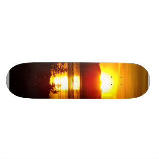 Alaskan Sunset Skateboard Deck