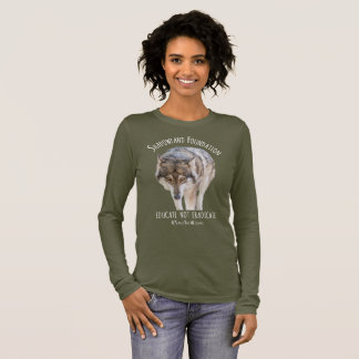 Alaskan Timber Wolf Long Sleeve T-Shirt