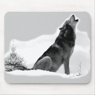 Alaskan Timber Wolf Mousepad